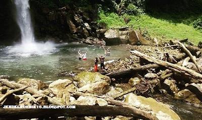 Air Terjun Saringgana, Keindahan Dan Kekayaan Alam Dari Langkat