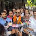 उप चुनाव 2019 - पत्रकार योगेन्द्र अग्निहोत्री ने धूमधाम से कराया नामांकन