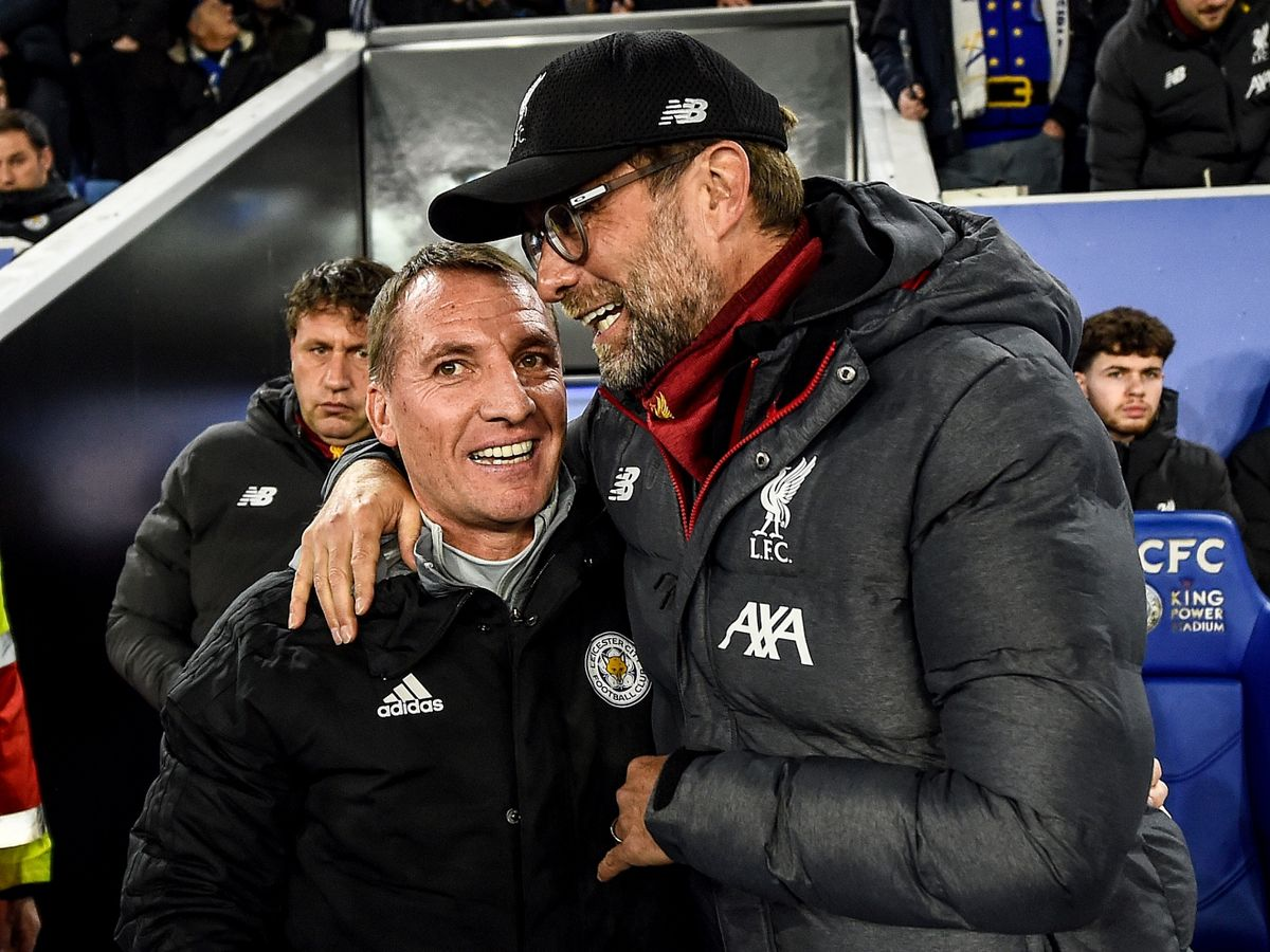 Former Liverpool manager Brendan Rodgers will meet his former employers when Leicester City visit Anfield