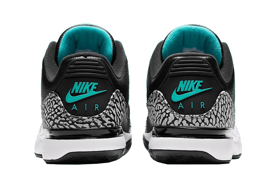 ddbae9a9d59 Initially unveiled in 2014 with white and black cement colorways paying  homage to the Air Jordan 3, Nike's Zoom Vapor Tour AJ3 for tennis icon  Roger Federer ...