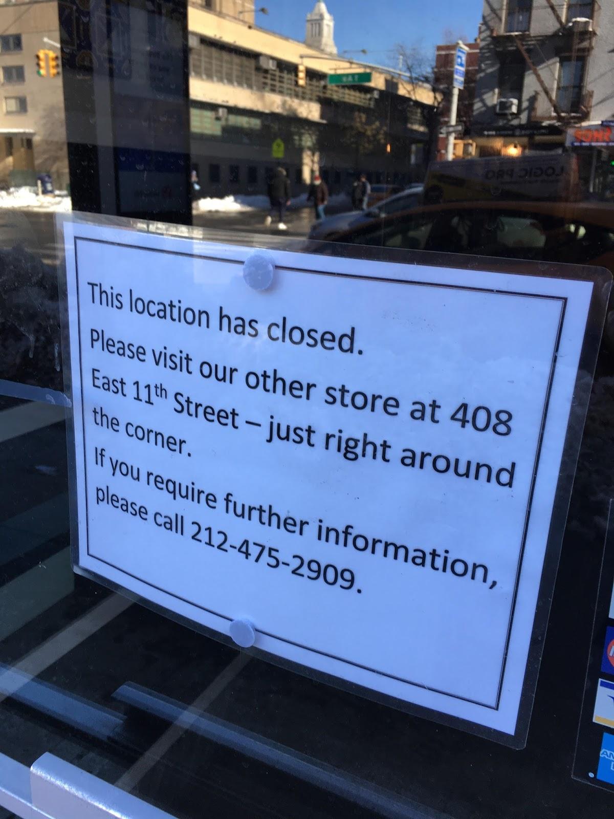 EV Grieve: Bella Tile showroom closes on 1st Avenue