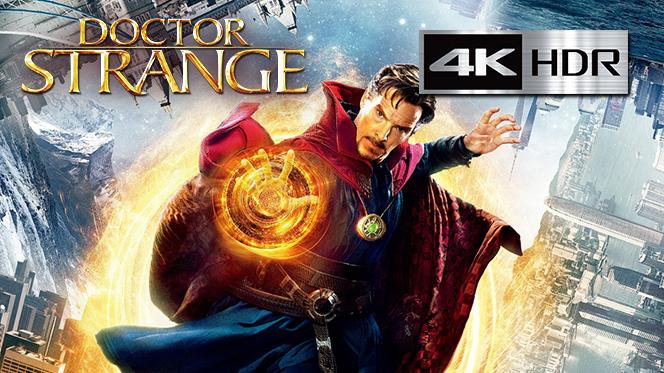 Doctor Strange (2016) 4K UHD [HDR] Latino-Castellano-Ingles