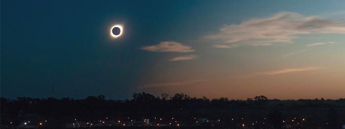 como foi o eclipse dezembro 2020