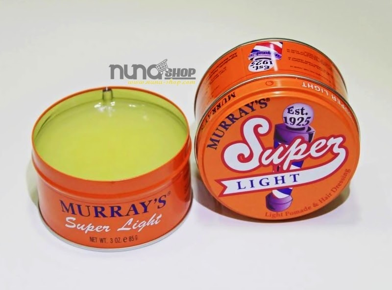 MURRAY'S SUPER LIGHT ORIGINAL POMADE
