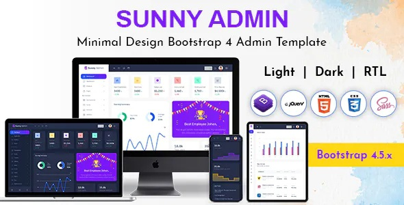 Best Admin Dashboard Bootstrap  HTML Template