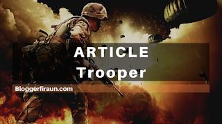 Ilustrasi dalam membuat artikel blog untuk memenangkan pertempuran di SERP