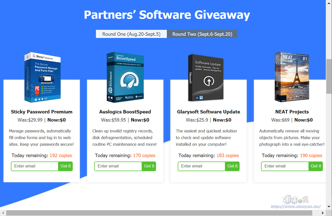 WinXDVD Windows 11升級專題限免活動.免費贈送10款正版軟體
