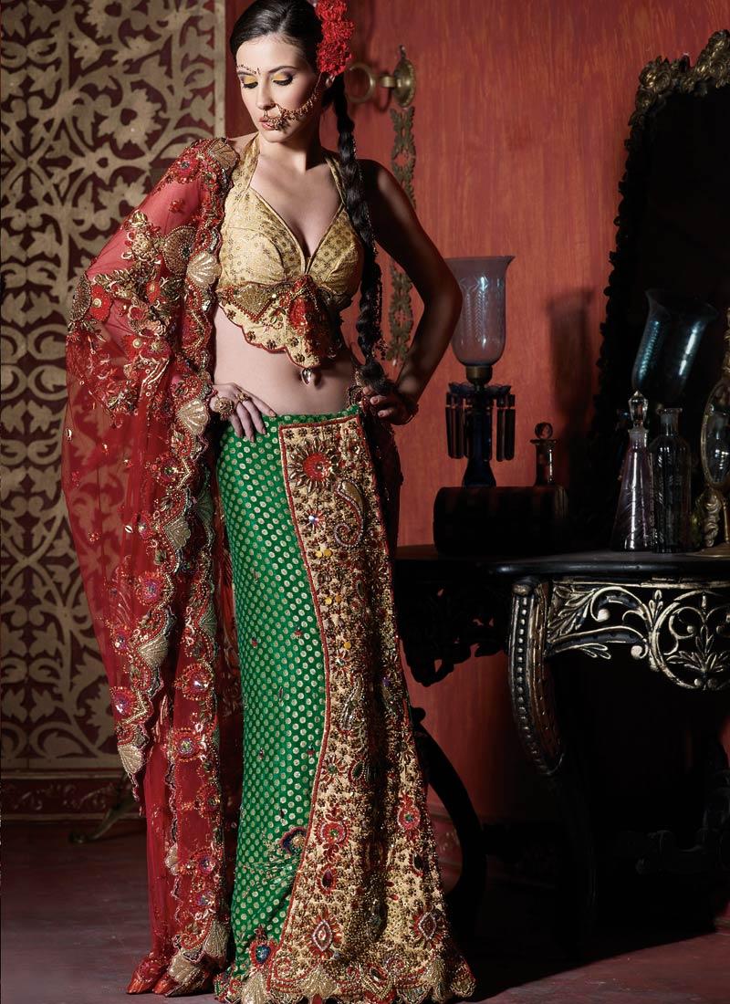 Fashionfastival Indian Lehenga Saree