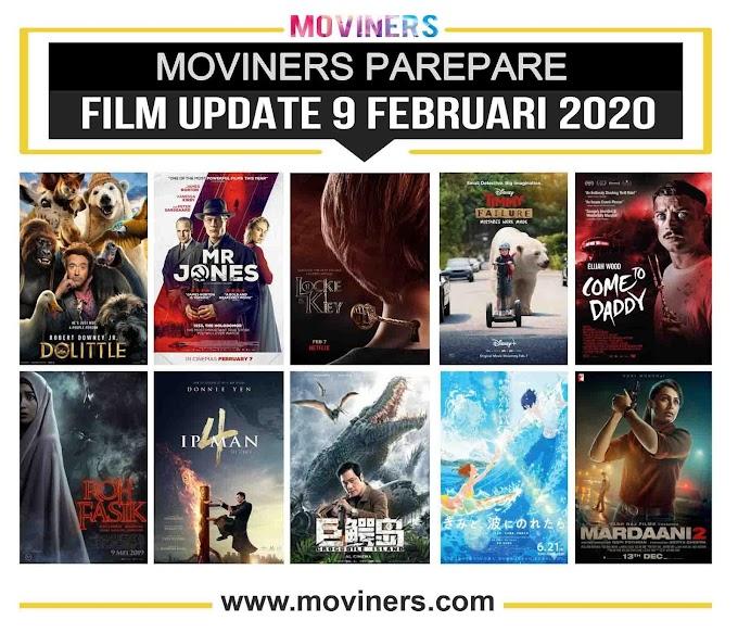 FILM UPDATE 9 FEBRUARI 2020