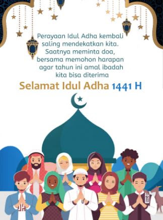 10 Ucapan Idul Adha 2020 1441 H Lengkap Dengan Gambar Menyentuh Hati Review Teknologi Sekarang