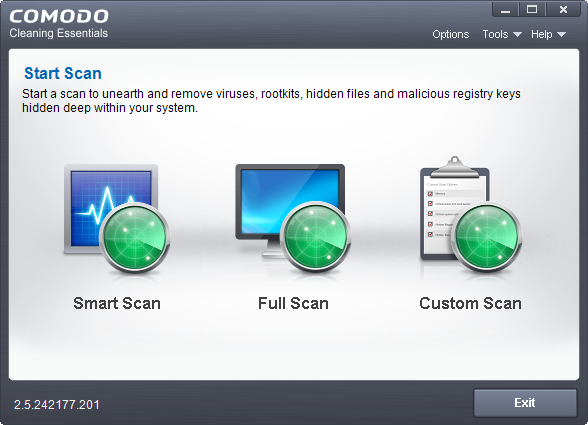 Comodo-Cleaning-Essentials-Free-Portable-Antivirus-Scanner