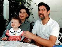 Francisco Sagasti, su esposa e hija