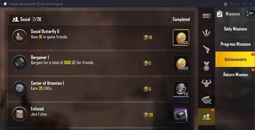 BP cũng được game tặng cho người chơi khi họ hoàn thành một nhiệm vụ nhất định
