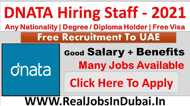 DNATA Hiring Staff In Dubai  UAE 2021