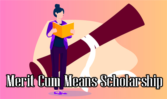 Merit Cum Means MCM Scholarship 2020 Status Apply Online Details