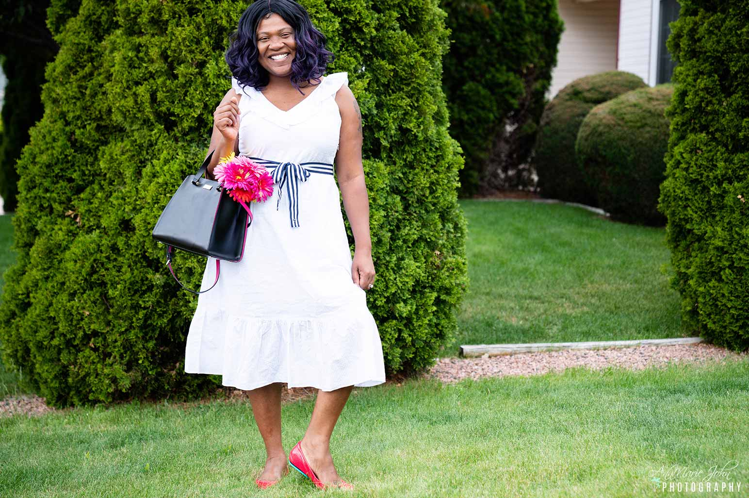 How to Celebrate Mother's Day From Far Away - Mother Wearing Tieks