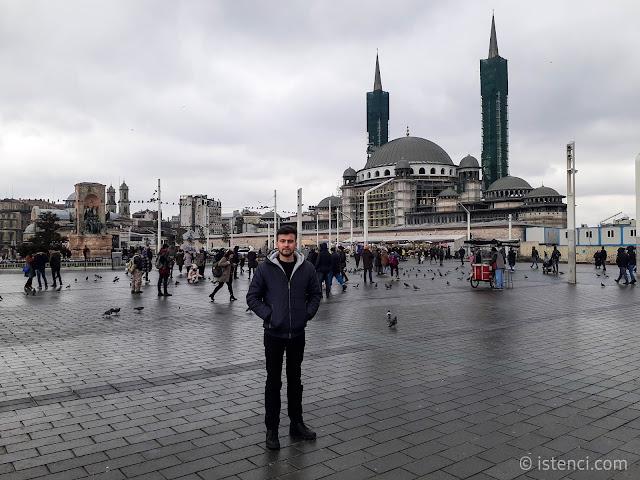 Taksim Meydanı, Beyoğlu, İstanbul   Harun İstenci - Ocak 2020