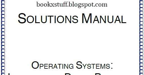 Operating System Ebook William Stalling