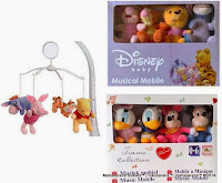 Musical Mobile Disney Mickey Mouse and Friends