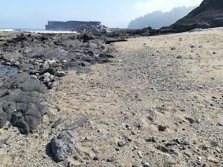 Playa y rasa mareal, Burumendi, Mutriku, Gipuzkoa
