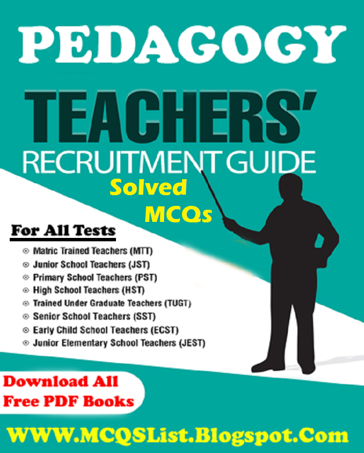 Dogar Brothers Pedagogy Fully Solved MCQS Book - Solve-MCQs