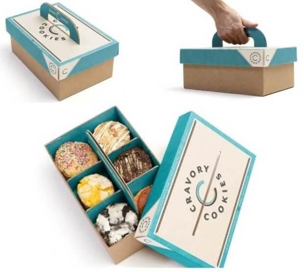 Kotak Cookies Lengkap dengan Pegangan