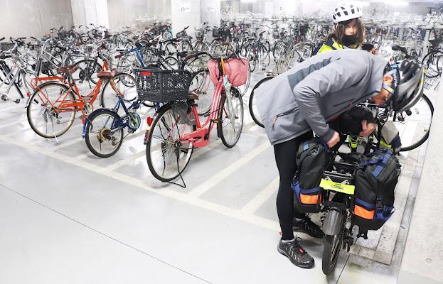 Public bicycle parking in Shikoku, Bike Trip