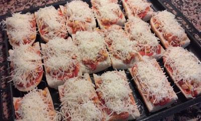 queso para gratinar los paninis