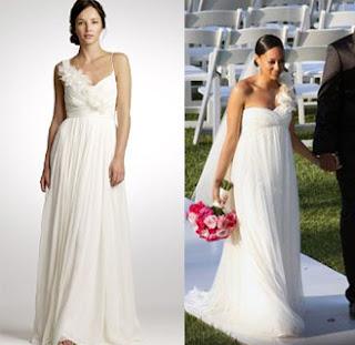 Tia Mowry's wedding dress