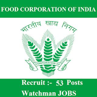 Food Corporation of India, FCI, Delhi, FCI Delhi, Watchman, 10th, freejobalert, Sarkari Naukri, Latest Jobs, fci delhi logo