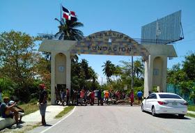 Bloquean entrada por el COVID -19 en Función Provincia Barahona