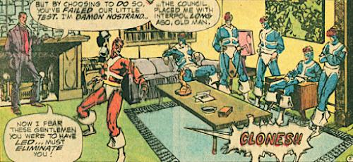 Detective Comics #440, Manhunter and his clones