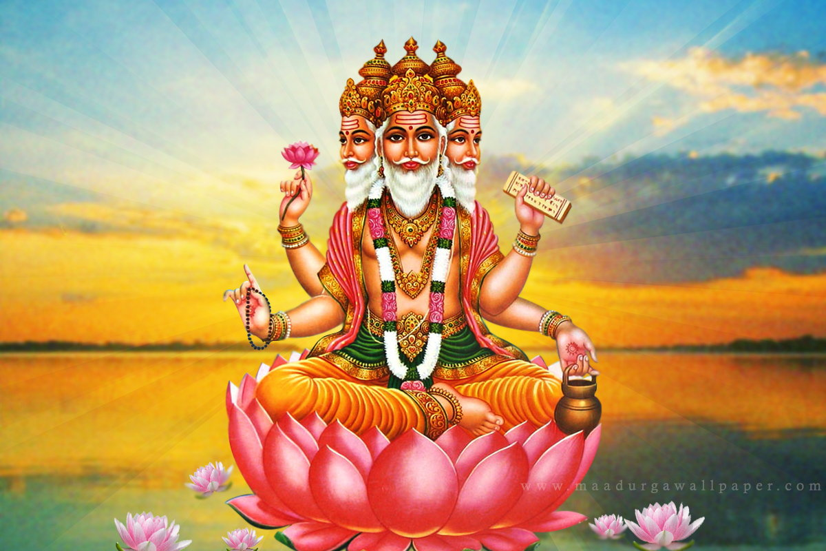 Hindu God Krishna Wallpaper 3d Decoding The Story Behind Four Faces Of Lord Brahma The