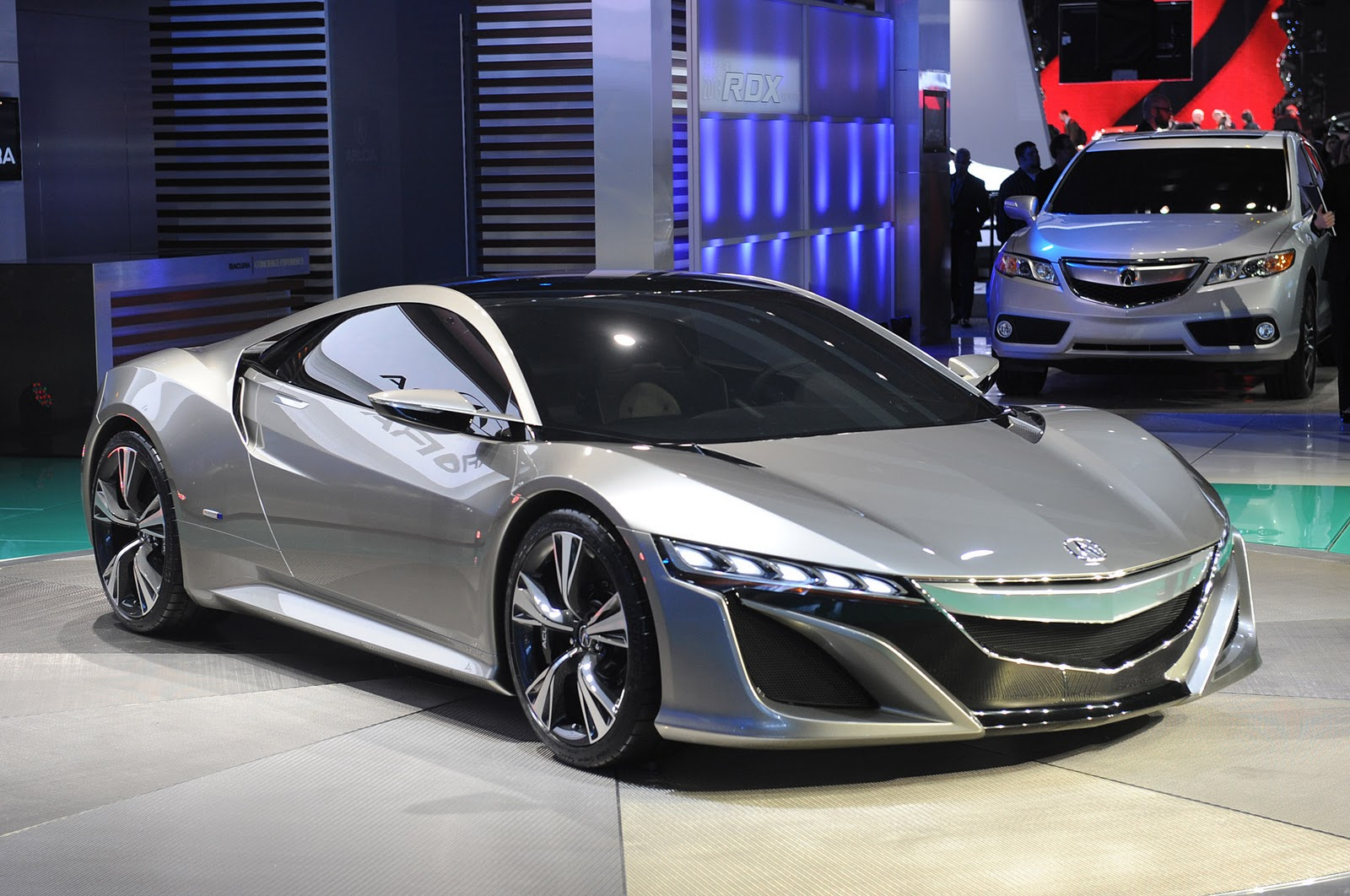 fotos e imagens de carros carros importados fotos do acura nsx concept. Black Bedroom Furniture Sets. Home Design Ideas