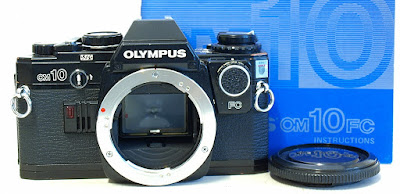 Olympus OM10 FC (Black) Body #657, Manual Adapter