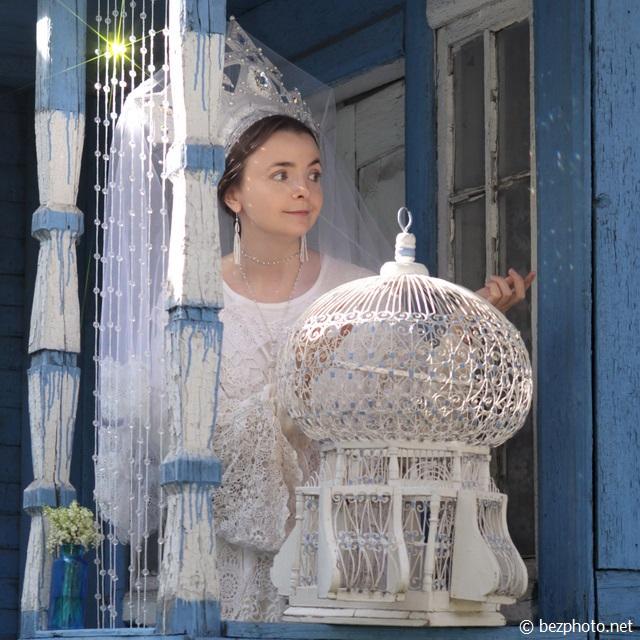 девушка в кокошнике фото