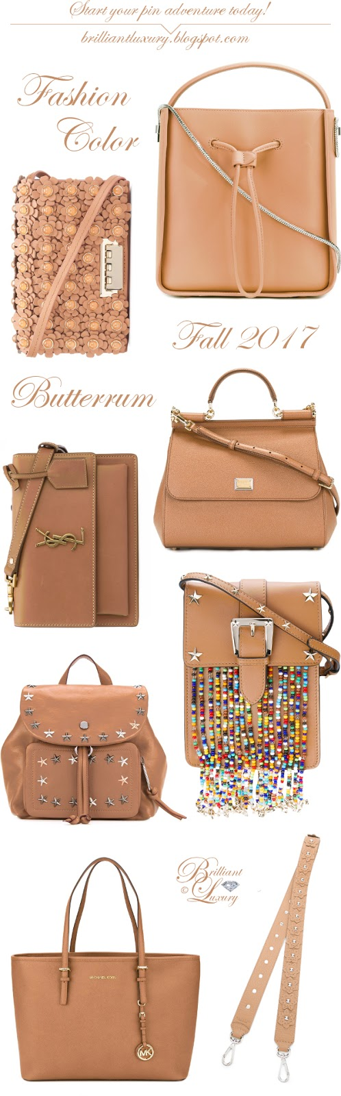 ♦ Fashion Color Fall 2017 ~ butterrum Part II