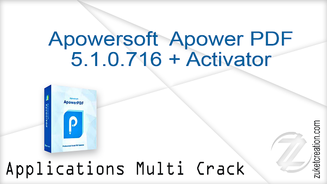 Apowersoft  Apower PDF 5.1.0.716 + Activator + Portable