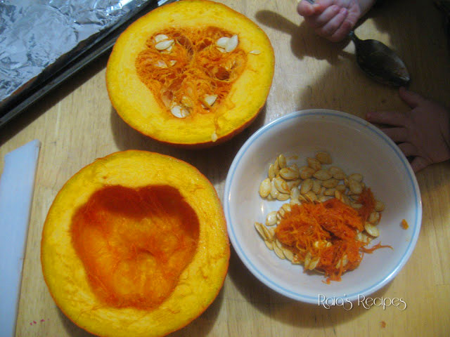 How to Bake a Pumpkin by Raia's Recipes