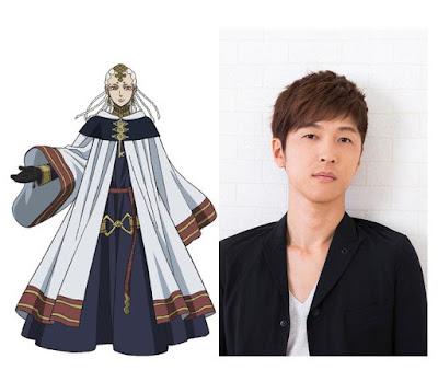 Takahiro Sakurai se une al reparto seiyuu como la voz de Licht, líder de Ojo de la Noche Blanca.