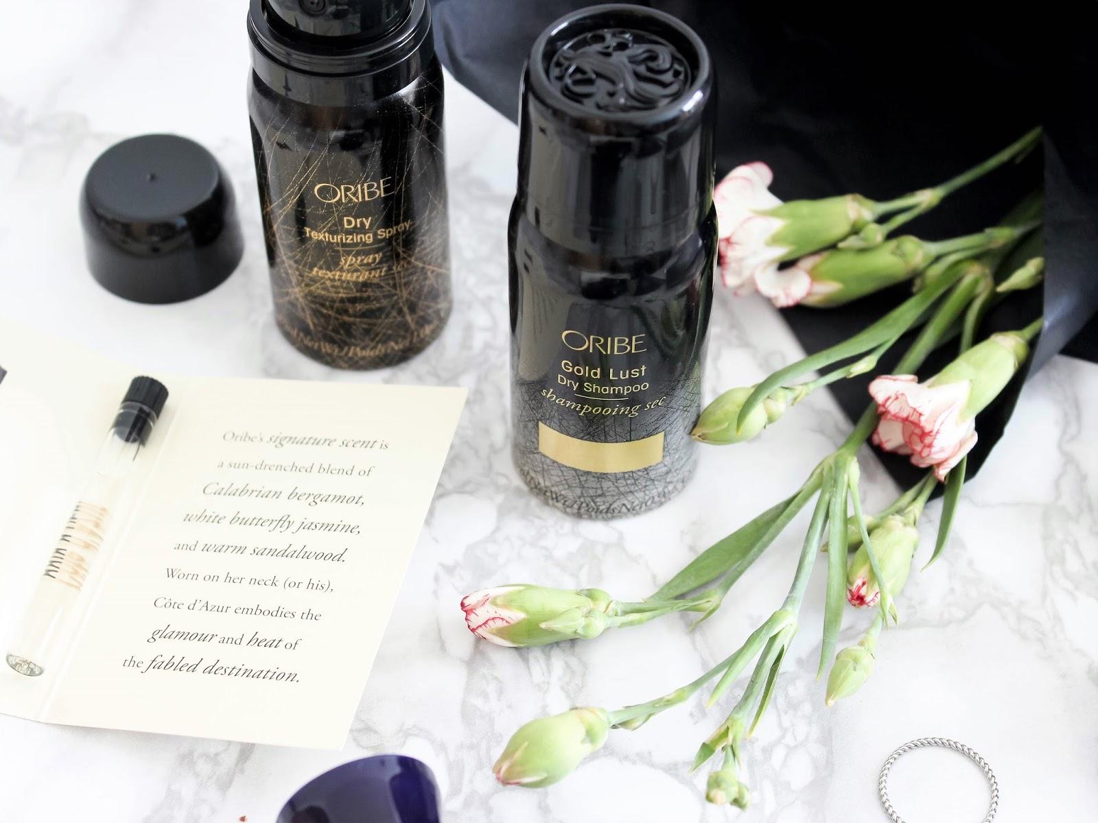 oribe suchý šampon recenze