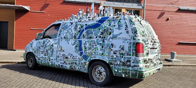 Cool Van we saw at Port Townsend