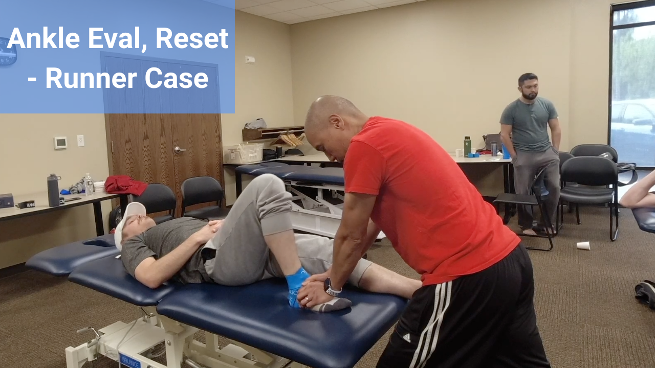 Ankle Mini Case - Runner - modernmanualtherapy.com