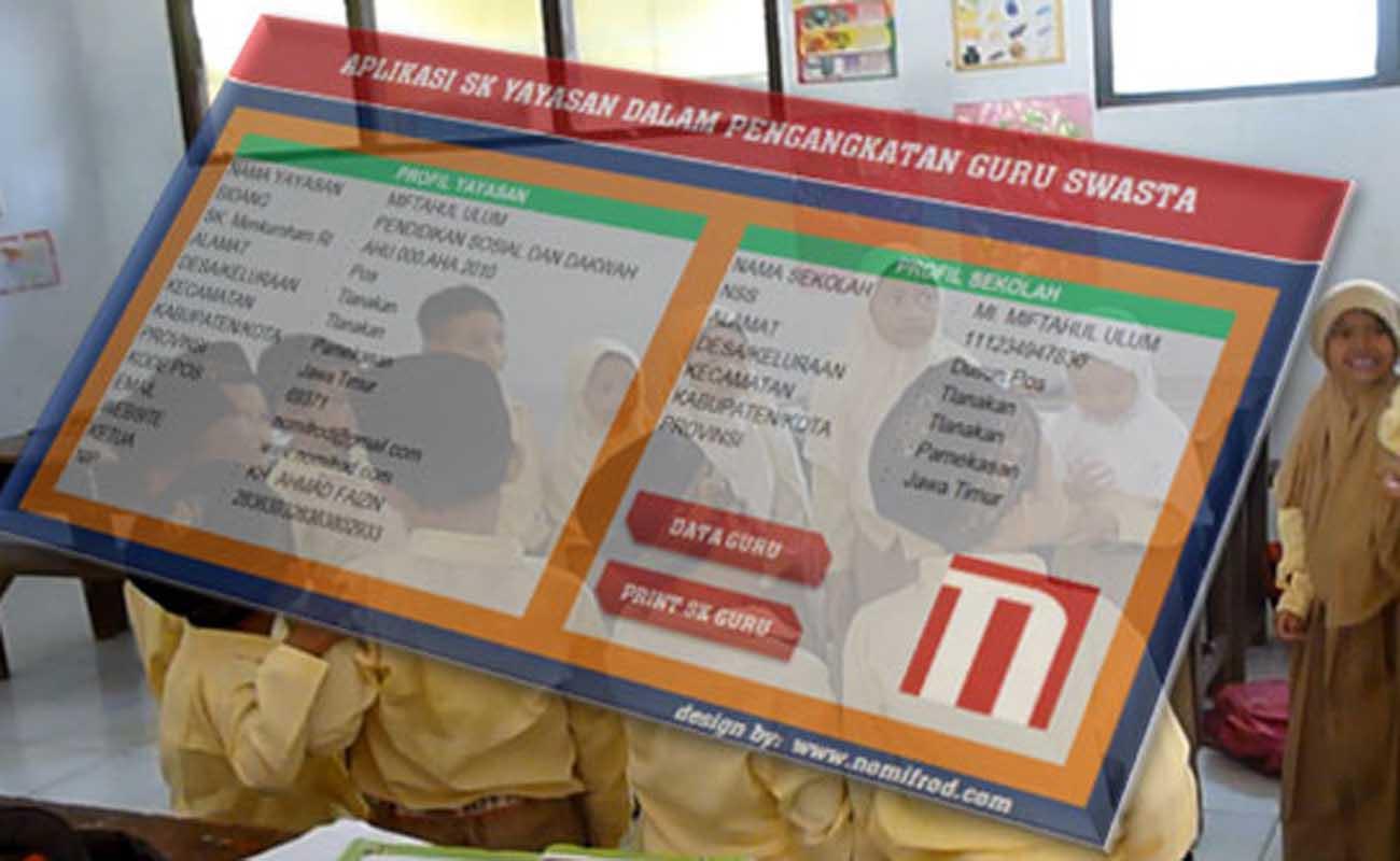 Download Aplikasi SK Yayasan Untuk Guru Swasta