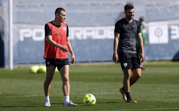 Málaga, regreso al entrenamiento con la ausencia de Mejías por lesión