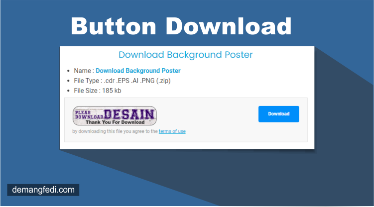 Button Download Responsive Ala Jalan Tikus