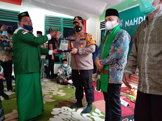 AKBP Ikhwan Lubis Bersama Bupati Batubara Kunjungi Nahdatul Ulama