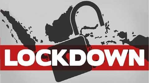 ilustrasi lockdown