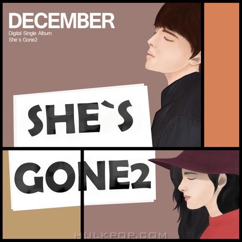 December – She`s gone2 – Single