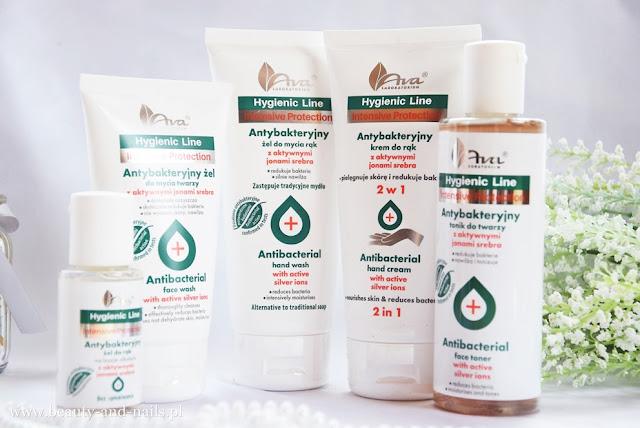 AVA – NOWOŚĆ antybakteryjne kosmetyki Hygienic Line.